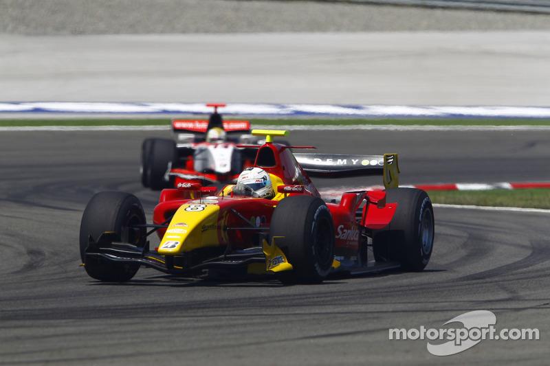 Christian Vietoris rijdt voor Luiz Razia