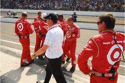 Target Chip Ganassi Racing celebrates