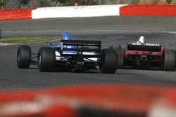 #16 Abba Kogan, Tyrrell 023 F1 and #21 Karl-Heinz Becker, Dallara Nissan WS