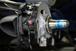 Red Bull Racing brake system detail