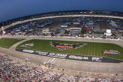 View from the roof of Texas Motor Speedway