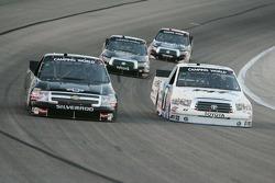 Ken Schrader, Kevin Harvick, Inc. Chevrolet & Justin Lofton, visitpit.com Toyota