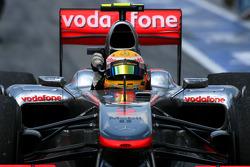 Sieger Lewis Hamilton, McLaren Mercedes