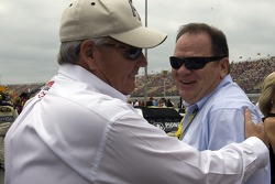 Rick Hendrick and Chip Ganassi