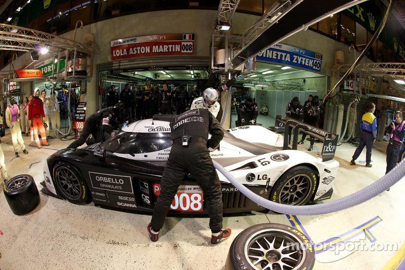 Pitstop #008 Signature Plus Lola Aston Martin: Pierre Ragues, Vanina Ickx, Franck Mailleux