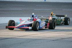 Milka Duno, Dale Coyne Racing & Takuma Sato, KV Racing Technology
