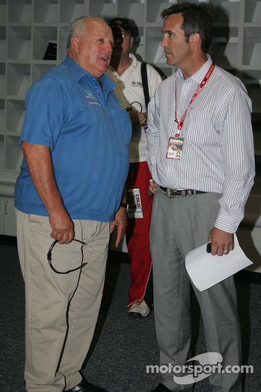 A.J. Foyt Jr. & Randy Bernard