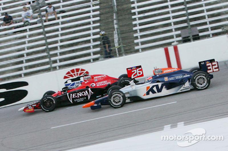 Marco Andretti, Andretti Autosport et Mario Moraes, KV Racing Technology