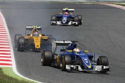 Marcus Ericsson, Sauber C35, mit Verbremser