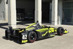 Neues Design und neue Startnummer für Charlie Kimball, Chip Ganassi Racing Chevrolet