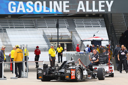 The car of Alex Tagliani, A.J. Foyt Enterprises Honda