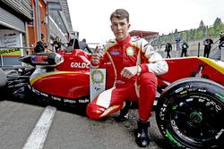 Il polesitter Leonardo Pulcini, Campos Racing