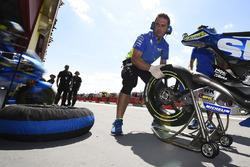 Team Suzuki MotoGP detail