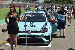 Grid kızı, Stefano Comini, Leopard Racing, Volkswagen Golf GTI TCR