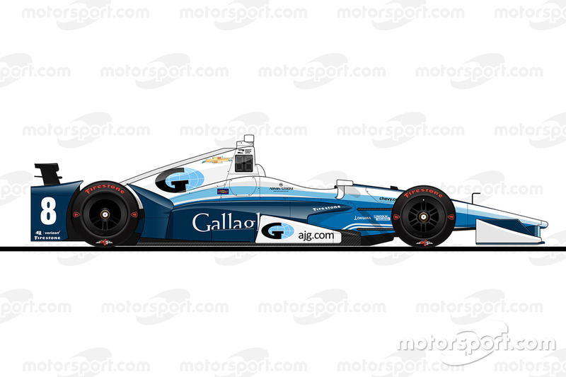 Startposition 22: Max Chilton (Ganassi-Chevrolet)