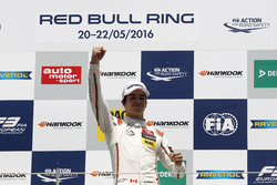 Podium: Winner Lance Stroll, Prema Powerteam Dallara F312 – Mercedes-Benz