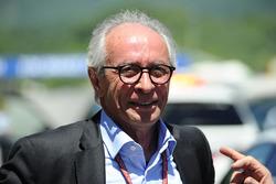 Le Président de la FIM, VitoIppolito