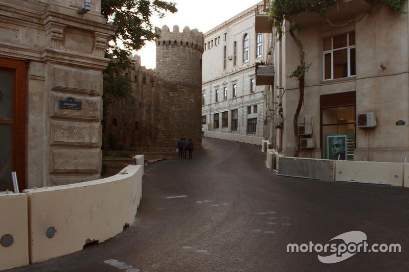 Engstelle beim neuen F1-Kurs in Baku