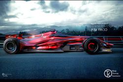 Alfa Romeo F1 Concept Design