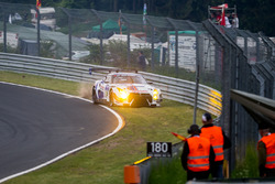 Kaza #24 Team Zakspeed, Nissan GT-R Nismo GT3: Marc Gassner, Florian Strauß, Tom Coronel