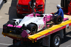 Розбитий болід Піппи Манн, Dale Coyne Racing Honda