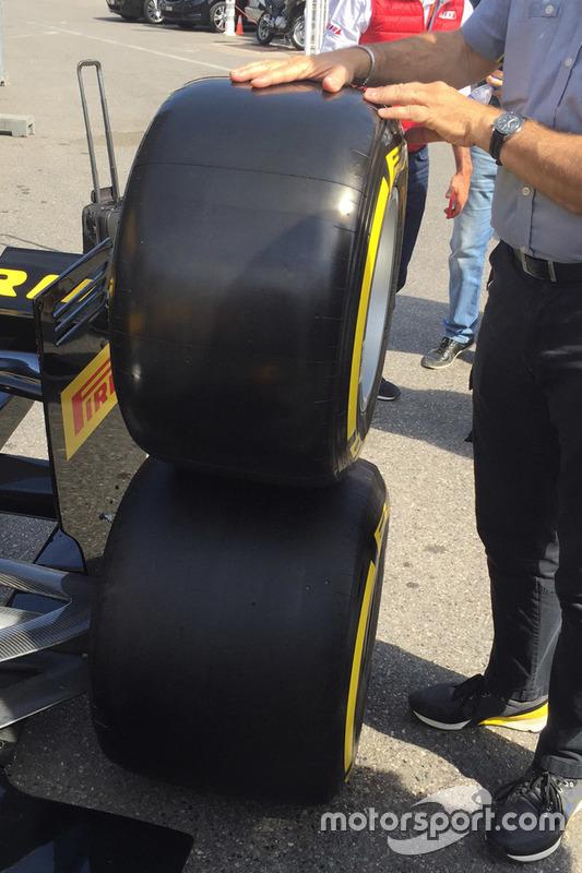 Comparazione gomme Pirelli 2016/2017