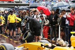 Boxenstopptraining bei Renault Sport F1