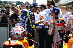 Валентино Россі, Yamaha Factory Racing, Дані Педроса, Repsol Honda Team
