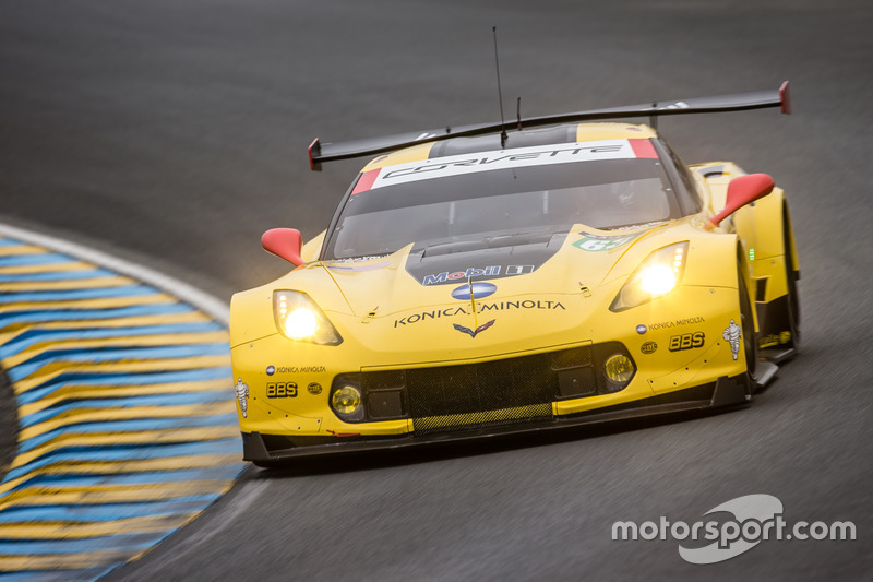 LMGTE Pro: #63 Corvette Racing, Chevrolet Corvette C7-R
