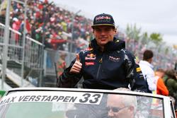 Max Verstappen, Red Bull Racing nella sfilata dei piloti