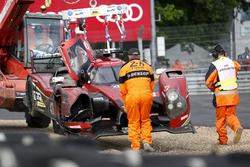 Crash, #43 RGR Sport by Morand Ligier JSP2 Nissan: Bruno Senna