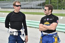 Brad Keselowski, Team Penske ve Marco Andretti, Andretti Autosport Honda