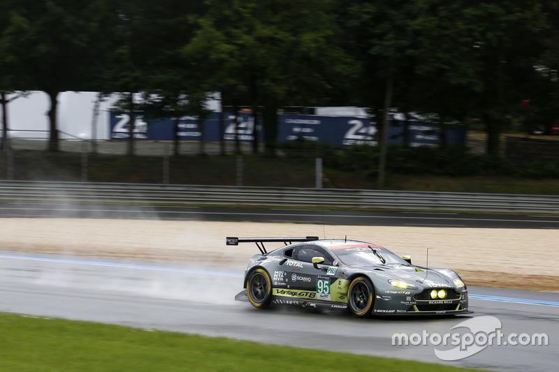 36: #95 Aston Martin Racing Aston Martin Vantage: Nicki Thiim, Marco Sorensen, Darren Turner