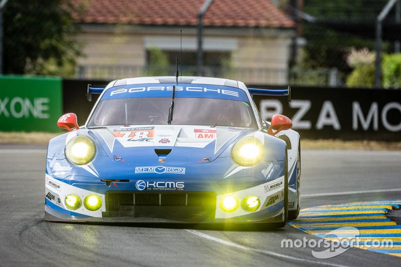 2. LMGTE-Am: #78 KCMG, Porsche 911 RSR
