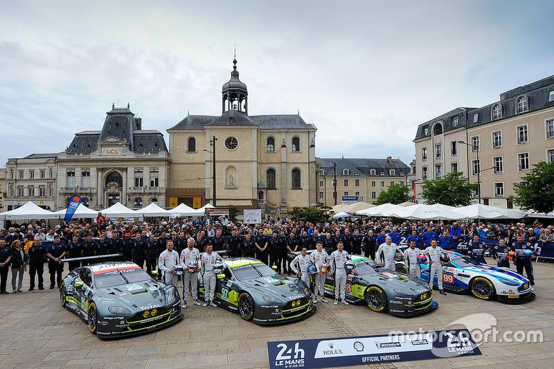 #95, #97, #98 und #99: Aston Martin Racing