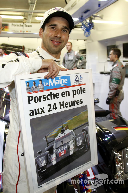 Pole position #2 Porsche Team Porsche 919 Hybrid: Neel Jani
