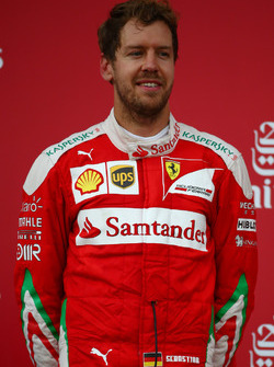 2° posto per Sebastian Vettel, Scuderia Ferrari