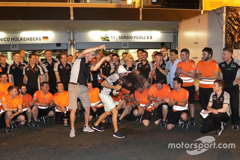 Force India: 17 очков