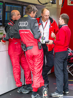 Audi Sport Team Joest: Dr. Wolfgang Ullrich, Ralf Jüttner and Allan McNish