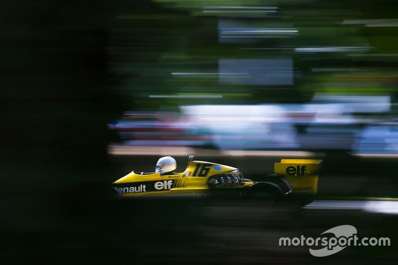 Renault RS01 - René Arnoux