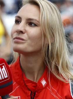 Doreen Seidel, di starting grid