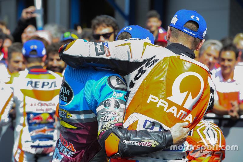 Scott Redding, Pramac Racing y Jack Miller, Marc VDS Racing Honda