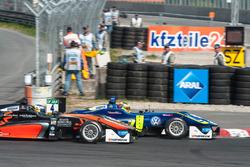Harrison Newey, Van Amersfoort Racing Dallara F312 - Mercedes-Benz, Alessio Lorandi Carlin Dallara F312 - Volkswagen