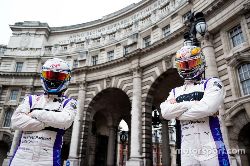 Jean-Eric Vergne y Sam Bird, DS Virgin Racing