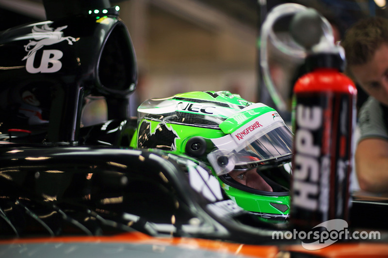 Nico Hulkenberg, Sahara Force India F1 VJM09 - Hype Energy Drink