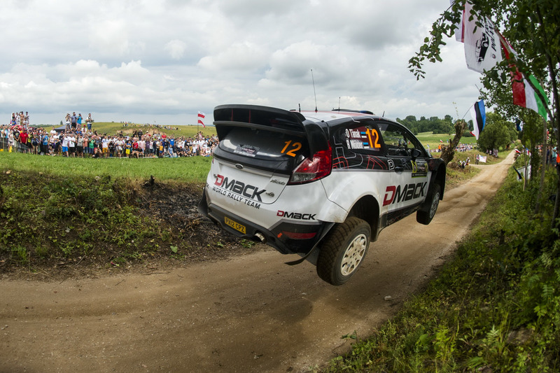 Ott Tanak, Raigo Molder, DMACK World Rally Team