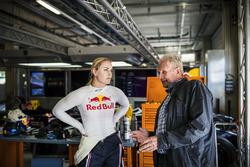 Lindsey Vonn ve Dr. Helmut Marko