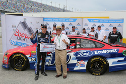 Polesitter Greg Biffle, Roush Fenway Racing Ford