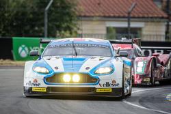 #99 Aston Martin Racing, Aston Martin Vantage: Andrew Howard, Gary Hirsch, Liam Griffin