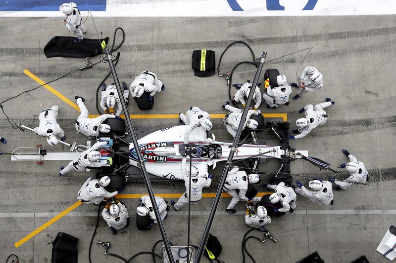 2. Valtteri Bottas, Williams FW38